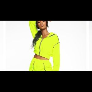 NWT fashion nova green jacket